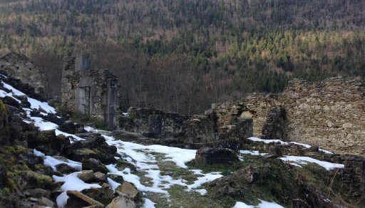 Ruines de Valchevrière
