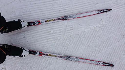 entrainement croisé ski de fond