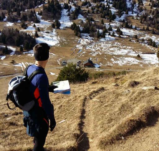 orientation en montagne