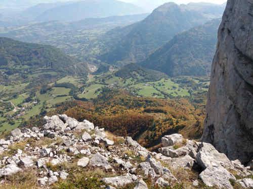 vue vallée Saint Andéol